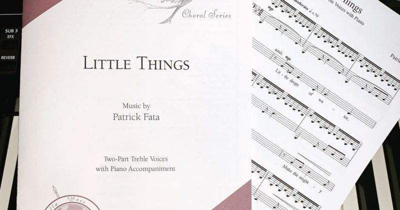 Little Things Published